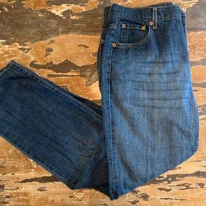 Levi's 505 size 16 jeans low rise straight leg